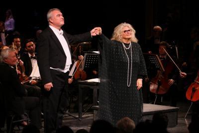 Gabriela Beňačková a Miroslav Dvorský