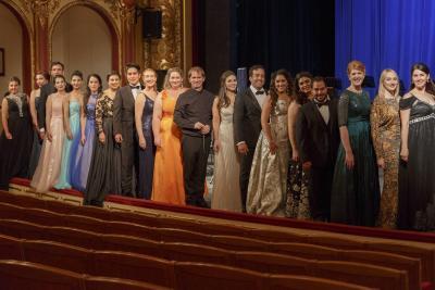 účastníci kurzů Opernfest Prague 2017