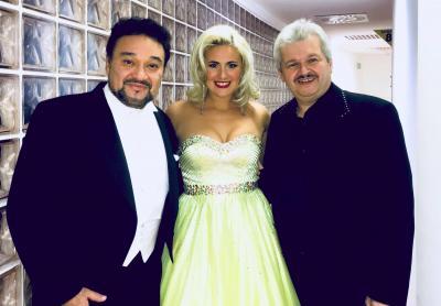 Před koncertem Gala Verdi se slavným tenoristou Ramónem Vargasem