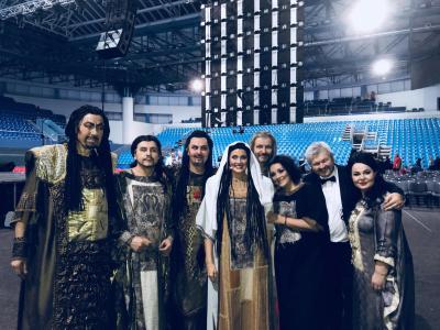 Po úspěšném představení Nabucca v Bratislavské areně
