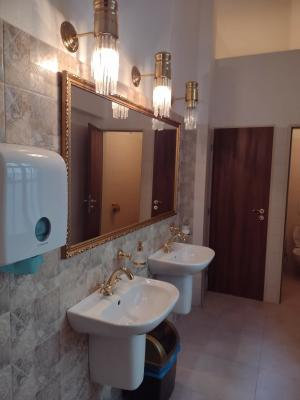 rekonstrukce toalety - leden 2021