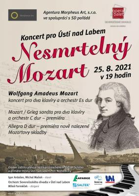 Plakát - Nesmrtelný Mozart